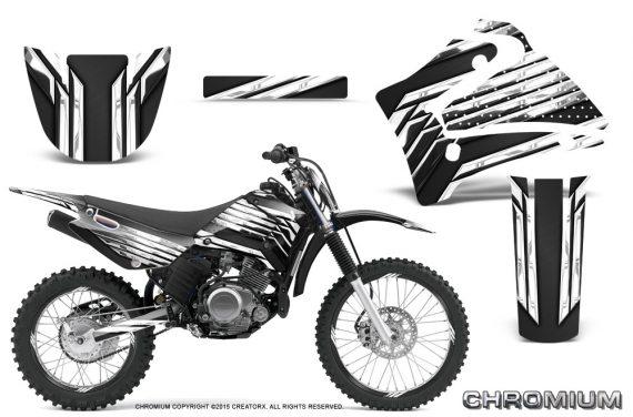 Yamaha TTR125 CreatorX Graphics Kit Chromium Black BB NP Rims 570x376 - Yamaha TTR125 2000-2019 Graphics