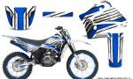 Yamaha TTR125 CreatorX Graphics Kit Chromium Blue NP Rims 150x90 - Yamaha TTR125 2000-2019 Graphics