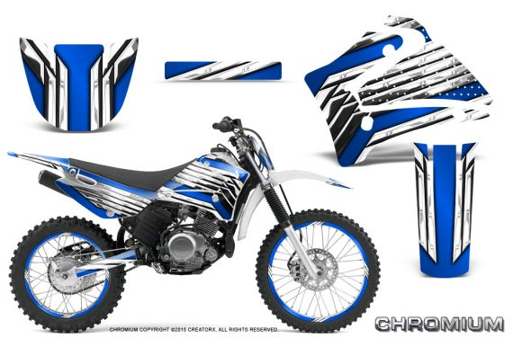 Yamaha TTR125 CreatorX Graphics Kit Chromium Blue NP Rims 570x376 - Yamaha TTR125 2000-2019 Graphics