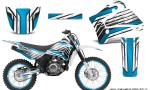 Yamaha TTR125 CreatorX Graphics Kit Chromium BlueIce NP Rims 150x90 - Yamaha TTR125 2000-2019 Graphics