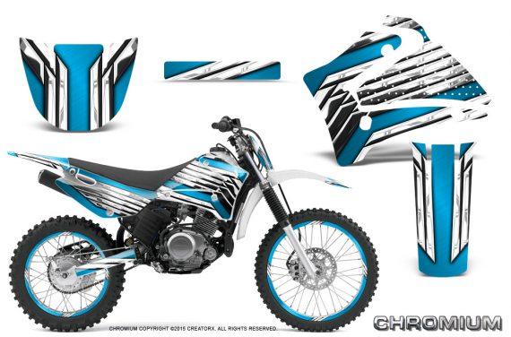 Yamaha TTR125 CreatorX Graphics Kit Chromium BlueIce NP Rims 570x376 - Yamaha TTR125 2000-2019 Graphics