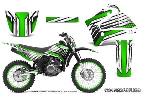 Yamaha TTR125 CreatorX Graphics Kit Chromium Green BB NP Rims 570x376 - Yamaha TTR125 2000-2019 Graphics