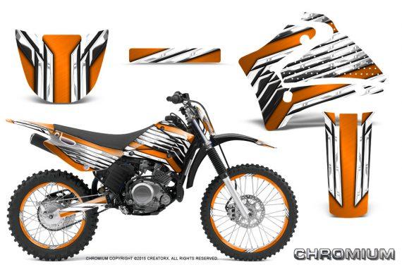 Yamaha Ttr125 Creatorx Graphics Kit Chromium Orange Bb