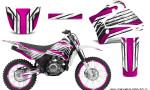 Yamaha TTR125 CreatorX Graphics Kit Chromium Pink NP Rims 150x90 - Yamaha TTR125 2000-2019 Graphics