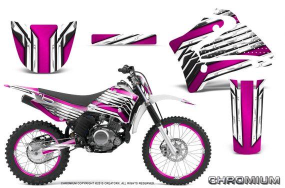Yamaha TTR125 CreatorX Graphics Kit Chromium Pink NP Rims 570x376 - Yamaha TTR125 2000-2019 Graphics