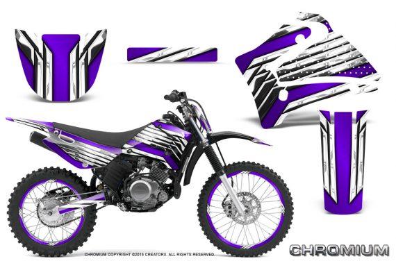 Yamaha TTR125 CreatorX Graphics Kit Chromium Purple BB NP Rims 570x376 - Yamaha TTR125 2000-2019 Graphics