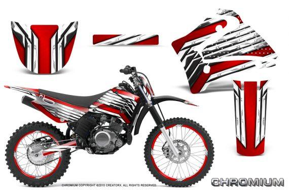 Yamaha TTR125 CreatorX Graphics Kit Chromium Red BB NP Rims 570x376 - Yamaha TTR125 2000-2019 Graphics