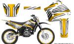 Yamaha TTR125 CreatorX Graphics Kit Chromium Yellow BB NP Rims 150x90 - Yamaha TTR125 2000-2019 Graphics