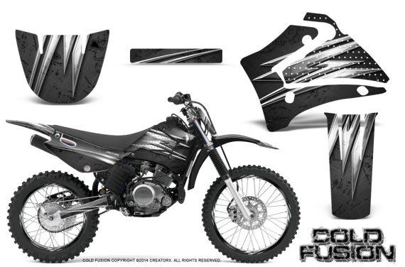 Yamaha TTR125 CreatorX Graphics Kit Cold Fusion Black NP Rims 570x376 - Yamaha TTR125 2000-2019 Graphics