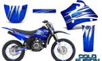 Yamaha TTR125 CreatorX Graphics Kit Cold Fusion Blue NP Rims 150x90 - Yamaha TTR125 2000-2019 Graphics