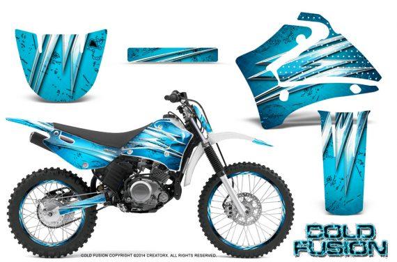 Yamaha TTR125 CreatorX Graphics Kit Cold Fusion BlueIce NP Rims 570x376 - Yamaha TTR125 2000-2019 Graphics