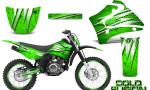 Yamaha TTR125 CreatorX Graphics Kit Cold Fusion Green NP Rims 150x90 - Yamaha TTR125 2000-2019 Graphics