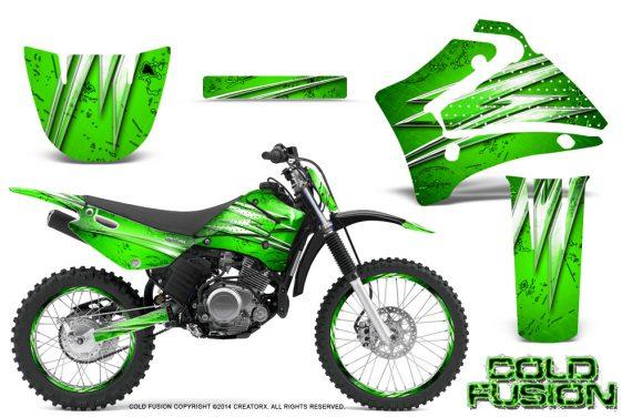 Yamaha TTR125 CreatorX Graphics Kit Cold Fusion Green NP Rims 570x376 - Yamaha TTR125 2000-2019 Graphics