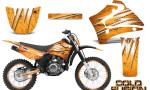 Yamaha TTR125 CreatorX Graphics Kit Cold Fusion Orange NP Rims 150x90 - Yamaha TTR125 2000-2019 Graphics