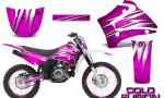 Yamaha TTR125 CreatorX Graphics Kit Cold Fusion Pink NP Rims 150x90 - Yamaha TTR125 2000-2019 Graphics
