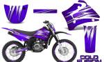 Yamaha TTR125 CreatorX Graphics Kit Cold Fusion Purple NP Rims 150x90 - Yamaha TTR125 2000-2019 Graphics