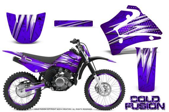 Yamaha TTR125 CreatorX Graphics Kit Cold Fusion Purple NP Rims 570x376 - Yamaha TTR125 2000-2019 Graphics