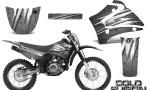 Yamaha TTR125 CreatorX Graphics Kit Cold Fusion Silver NP Rims 150x90 - Yamaha TTR125 2000-2019 Graphics
