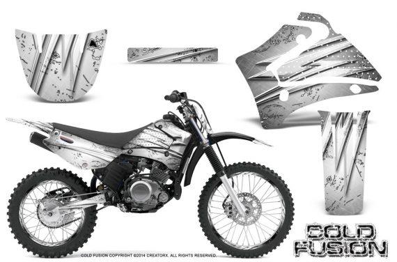 Yamaha TTR125 CreatorX Graphics Kit Cold Fusion White NP Rims 570x376 - Yamaha TTR125 2000-2019 Graphics