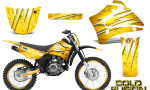 Yamaha TTR125 CreatorX Graphics Kit Cold Fusion Yellow NP Rims 150x90 - Yamaha TTR125 2000-2019 Graphics