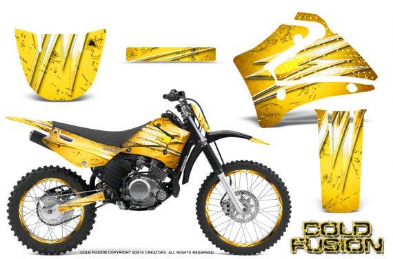 Yamaha TTR125 CreatorX Graphics Kit Cold Fusion Yellow NP Rims 570x376 - Yamaha TTR125 2000-2019 Graphics