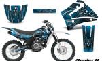 Yamaha TTR125 CreatorX Graphics Kit SpiderX BlueIce NP Rims 150x90 - Yamaha TTR125 2000-2019 Graphics