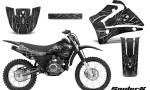 Yamaha TTR125 CreatorX Graphics Kit SpiderX Silver NP Rims 150x90 - Yamaha TTR125 2000-2019 Graphics
