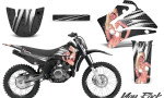 Yamaha TTR125 CreatorX Graphics Kit You Rock Black NP Rims 150x90 - Yamaha TTR125 2000-2019 Graphics