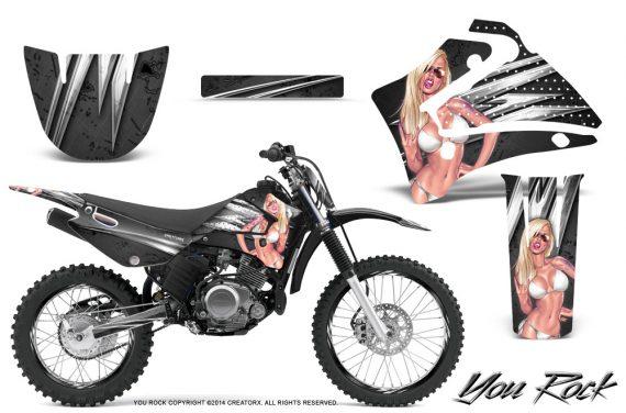 yamaha ttr 125. yamaha-ttr125-creatorx-graphics-kit-you-rock-black- yamaha ttr 125