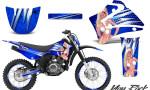 Yamaha TTR125 CreatorX Graphics Kit You Rock Blue NP Rims 150x90 - Yamaha TTR125 2000-2019 Graphics