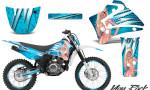 Yamaha TTR125 CreatorX Graphics Kit You Rock BlueIce NP Rims 150x90 - Yamaha TTR125 2000-2019 Graphics