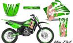 Yamaha TTR125 CreatorX Graphics Kit You Rock Green NP Rims 150x90 - Yamaha TTR125 2000-2019 Graphics