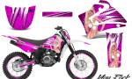 Yamaha TTR125 CreatorX Graphics Kit You Rock Pink NP Rims 150x90 - Yamaha TTR125 2000-2019 Graphics