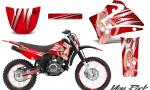 Yamaha TTR125 CreatorX Graphics Kit You Rock Red NP Rims 150x90 - Yamaha TTR125 2000-2019 Graphics