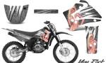 Yamaha TTR125 CreatorX Graphics Kit You Rock Silver NP Rims 150x90 - Yamaha TTR125 2000-2019 Graphics