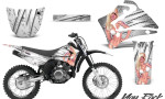 Yamaha TTR125 CreatorX Graphics Kit You Rock White NP Rims 150x90 - Yamaha TTR125 2000-2019 Graphics