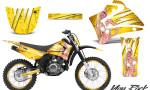Yamaha TTR125 CreatorX Graphics Kit You Rock Yellow NP Rims 150x90 - Yamaha TTR125 2000-2019 Graphics