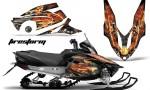Yamaha Vector RS AMR Graphics Kit Firestorm B 150x90 - Yamaha Vector RS Graphics 2012-2014