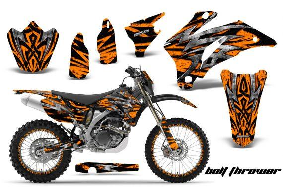 Yamaha WR 250 450 07 10 CreatorX Graphics Kit Bolt Thrower Orange NP Rims 570x376 - Yamaha WR450F 2007-2011 Graphics