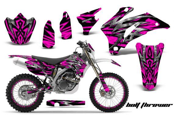 Yamaha WR 250 450 07 10 CreatorX Graphics Kit Bolt Thrower Pink NP Rims 570x376 - Yamaha WR450F 2007-2011 Graphics