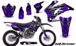 Yamaha WR 250 450 07 10 CreatorX Graphics Kit Bolt Thrower Purple NP Rims 150x90 - Yamaha WR450F 2007-2011 Graphics