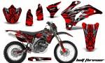 Yamaha WR 250 450 07 10 CreatorX Graphics Kit Bolt Thrower Red BB NP 150x90 - Yamaha WR450F 2007-2011 Graphics