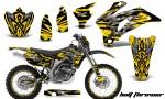 Yamaha WR 250 450 07 10 CreatorX Graphics Kit Bolt Thrower Yellow NP Rims BB 150x90 - Yamaha WR450F 2007-2011 Graphics