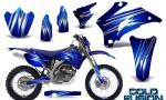 Yamaha WR 250 450 07 10 CreatorX Graphics Kit Cold Fusion Blue NP Rims 150x90 - Yamaha WR450F 2007-2011 Graphics