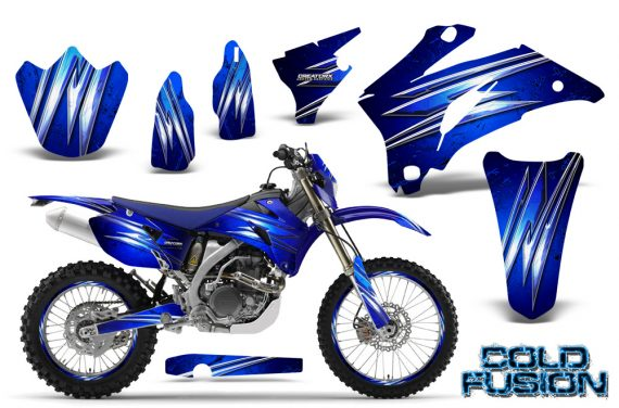 Yamaha WR 250 450 07 10 CreatorX Graphics Kit Cold Fusion Blue NP Rims 570x376 - Yamaha WR450F 2007-2011 Graphics