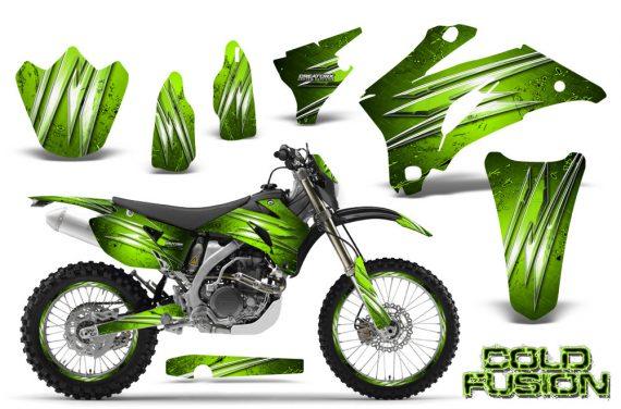 Yamaha WR 250 450 07 10 CreatorX Graphics Kit Cold Fusion Green NP Rims 570x376 - Yamaha WR450F 2007-2011 Graphics