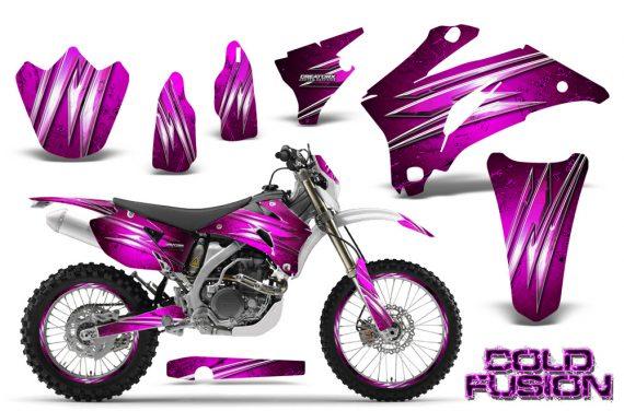 Yamaha WR 250 450 07 10 CreatorX Graphics Kit Cold Fusion Pink NP Rims 570x376 - Yamaha WR450F 2007-2011 Graphics