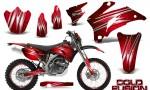 Yamaha WR 250 450 07 10 CreatorX Graphics Kit Cold Fusion Red NP Rims 150x90 - Yamaha WR450F 2007-2011 Graphics
