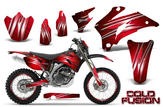 Yamaha WR 250 450 07 10 CreatorX Graphics Kit Cold Fusion Red NP Rims 570x376 - Yamaha WR450F 2007-2011 Graphics