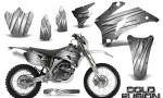 Yamaha WR 250 450 07 10 CreatorX Graphics Kit Cold Fusion White NP Rims 150x90 - Yamaha WR450F 2007-2011 Graphics